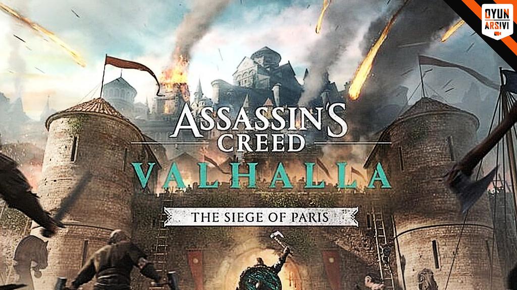 Assassin's Creed Valhalla The Siege Of Paris Çıkış Tarihi OA