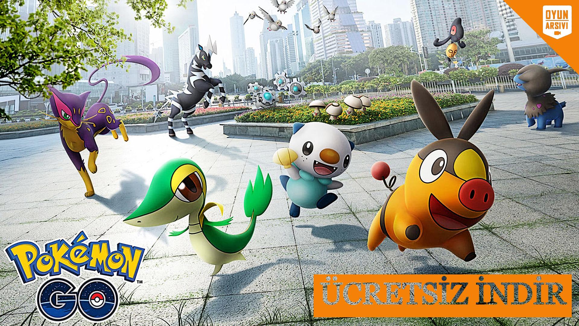 Pokémon GO İndir OA Oyun Arşivi