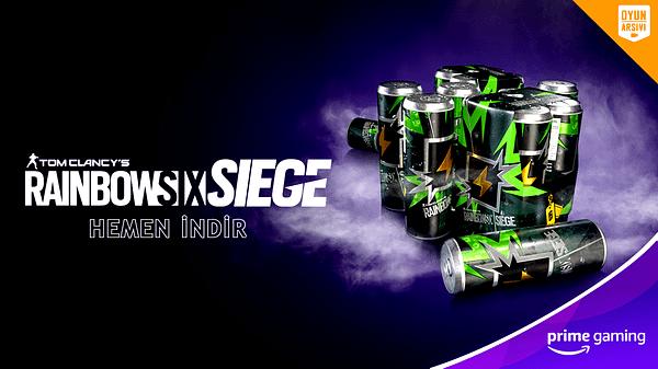 Prime Gaming Rainbow Six Siege Şöhret Paketi OA