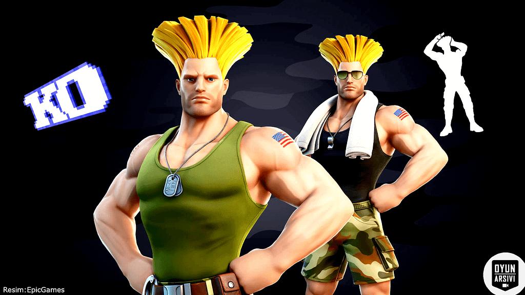 Fortnite, Street Fighter'dan Guile Ve Cammy'yi Getiriyor 2 OA