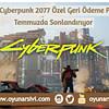 microsoft cyberpunk 2077 geri ödeme OA
