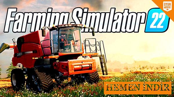 Farming Simulator 22 İndir Oyun Arşivi