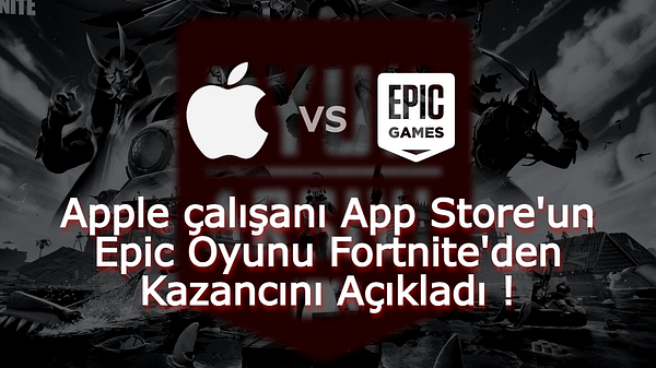 Epic Apple Fortnite Kazanç OA