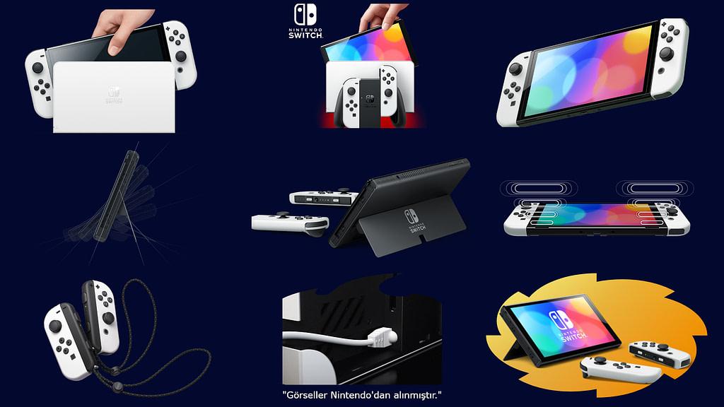 Yeni Nintendo Switch OLED