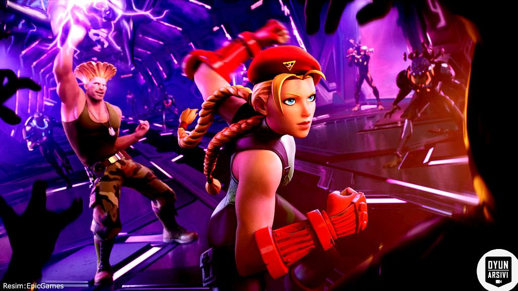 Fortnite, Street Fighter'dan Guile Ve Cammy'yi Getiriyor 3 OA