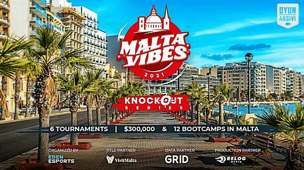 The Malta Vibes CS_GO Turnuvası Oyun Arşivi