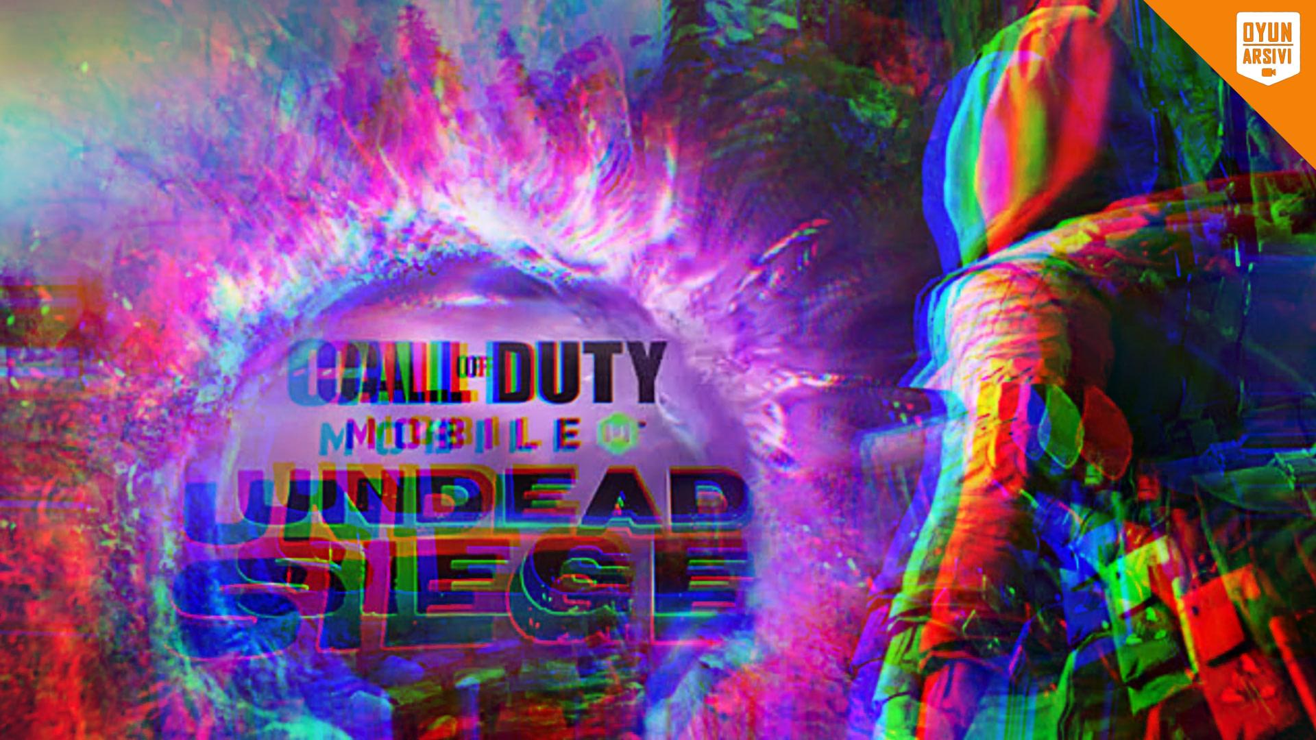 Call Of Duty Mobile Yeni Zombi Modu_ Undead Siege Oyun Arşivi