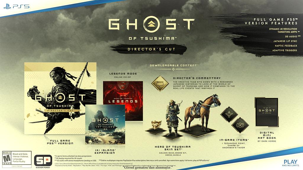 Ghost of Tsushima Director's Cutçıkış Tarihi Açıklandı OA