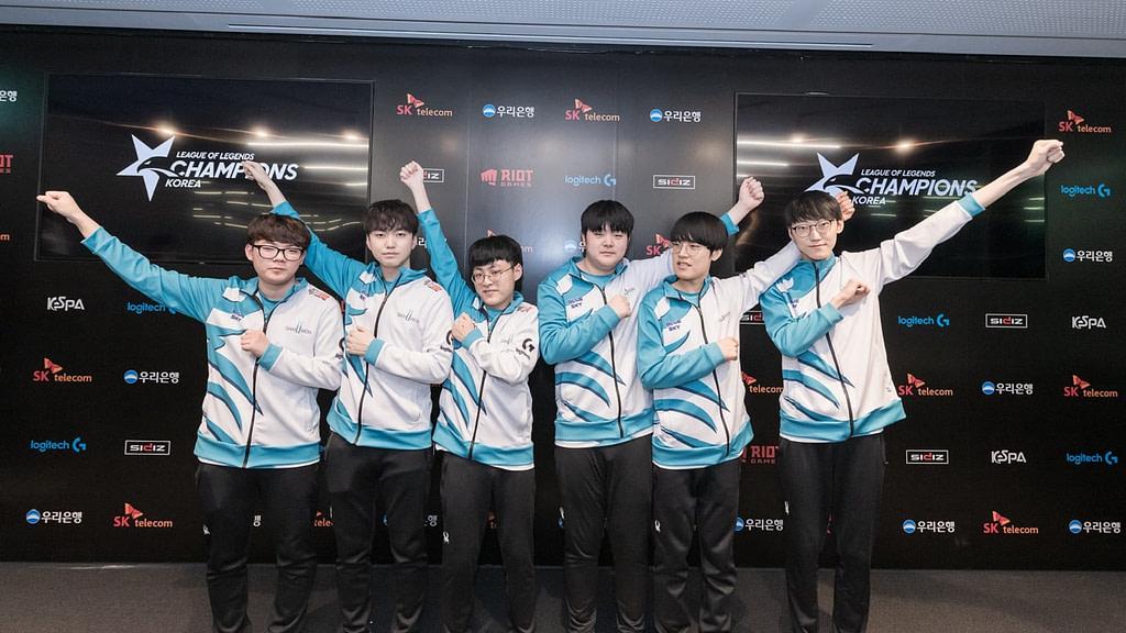 lol 2020 şampiyon damwon takımı OA