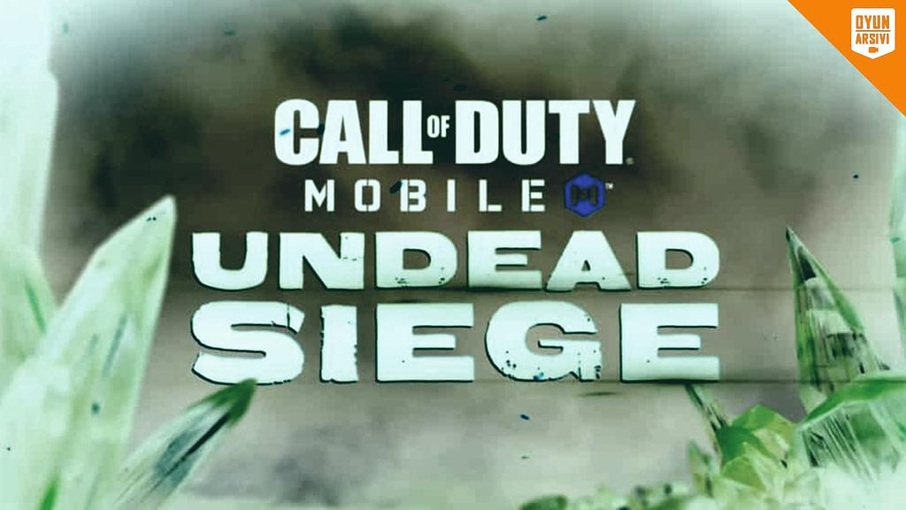 Call Of Duty Mobile Yeni Zombi Modu_ Undead Siege OA