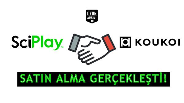 Sciplay Koukoi anlaşması OA