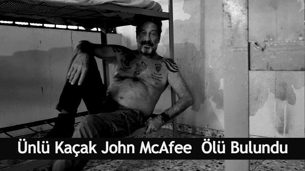 mcafee öldü OA