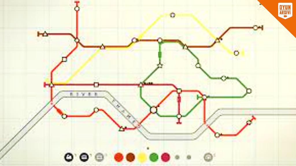 Steam Günlük İndirim'de Mini Metro İndirimli OA