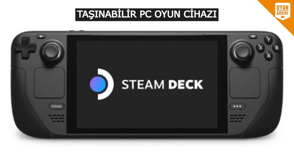 Steam Deck Özellik OA